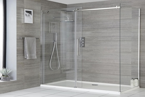 frameless shower door installation Campbell CA